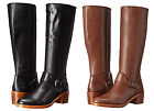 Coach Womens Cecelia Classic Riding Tall Calf Pull On Zipper Equestrian Boots