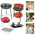 Portable Barbecue Grill BBQ Charcoal Cooking Picnic Camping Outdoor Party Beach