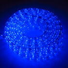 String Lights Fairy Lights - New 50100150LED Rope Light Home InOutdoor Christmas Decorative Party Blue