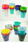 silver metal buckets - Large XL Metal SandWater Paint Pails Buckets PartyFavor Gifts Wedding Baby BULK