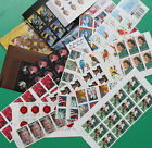 115 Assorted Mixed Designs Partial Panes and Pieces FOREVER STAMPS. FV $ 54.05