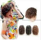 1pc Women Curly Cosplay Bangs Fringe Ponytail Clip-in Hair Extension