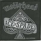 MOTORHEAD Sew On Patch Ace Of Spades Patches Official Band Merchandise