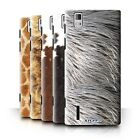 Animal Fur Effect/Pattern Phone Case/Cover for Huawei Ascend P2