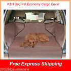 K&H economy cargo cover pet dog seat cover suv waterproof tan & grey