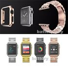 HOCO Color Stainless Steel Watch Band Strap with Cover For Apple Watch 38mm 42mm