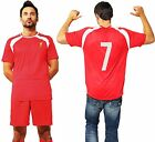 Liverpool Official Football Club T Shirt with Number Training 2015 2016 Kit