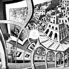 M.C. Escher Print gallery canvas print giclee 8X8&12X12 reproduction poster