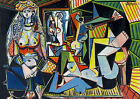 Pablo Picasso WOMEN OF ALGIERS canvas print giclee 8X12 & 12X17 reproduction