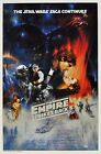 Star Wars - Empire strikes back 1980 Movie Poster Canvas Wall Art Film Print 80s