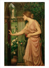 Waterhouse - Psyche Entering Cupid's Garden- fine art print poster various sizes