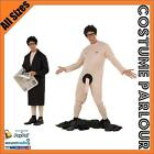 Mens Flasher Man Streaker Bucks Stag Hens Party Fancy Dress Costume