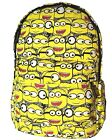 "New 16"" Canvas Kids Despicable Me Minion Backpack School Travelling Bag scbag24"