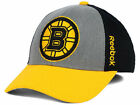 Boston Bruins Reebok M435Z NHL TNT Flex Stretch Fit Hockey Cap Hat