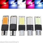 2 x T10 W5W LED Car Interior Wedge COB Width Bulb Light Side Lamp 12V. UK SELLER