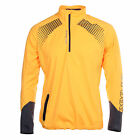 Reebok Crossfit Nano Speed 1/4 Zip Womens Windstopper Jacket Yellow