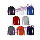 Gildan Softstyle® Men's Long Sleeve Plain blank T-Shirt S M L XL XXL NEW
