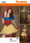PATTERN SIMPLICITY SteamPunk Snow White Corset Belle Tinker Bell sz 6 to 22 1093