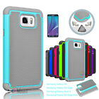 Slim Hybrid Rugged Rubber Hard Shockproof Phone Cover Case For Samsung Galaxy
