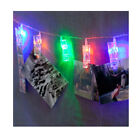 NEW LED 10/20 Photo Clip Fairy String Light Battery-operated Party Halloween