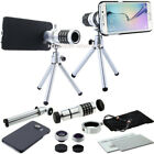 4in1 12x Zoom Telescope Camera Lens+Fisheye/Macro/Wide-angle For Samsung S8/S8+