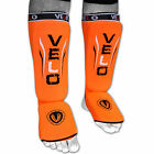 VELO Shin Instep Pads MMA Leg Foot Guards Kick Muay thai Boxing Guard Protectors