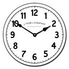 Large wall Clock, Telegraph Clock 12- 48 Whisper Quiet, Non-Ticking