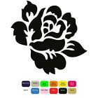 Rose Iron On T-Shirt Clothes Heat Transfer Decal Sticker 12 Colours 85mm