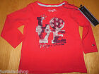 Tommy Hilfiger baby girl boy red top BNWT  0-3 m 62 cm designer