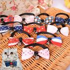 Polyester Pet Dog Puppy Cat Bow Tie Necktie Bowknot Adjustable Collars
