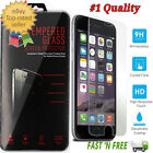"""Premium Tempered Glass Screen Protector for Apple 4.7"""" iphone 6 6S Plus 5.5"""""""
