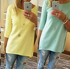 New Fashion Women's Long Sleeve Loose Casual Tops Blouse T-Shirt S-XL