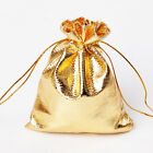 """Gold Jewellery Gift Bag / Pouch. 11cm x 16cm. (4"""" x 6"""" approx) Choose Quantity."""