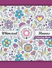Flowers Adult Colouring Book Anti Stress Zen Garden Calm Art Therapy Patterns