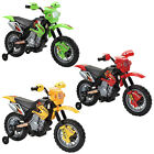 RIDE ON CHILDRENS ELECTRIC BATTERY POWERED SCRAMBLER MOTORCYCLE BIKE KIDS TOYS