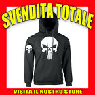 FELPA CAPPUCCIO THE PUNISHER FILM CULT CINEMA IDEA REGALO UOMO DONNA UNISEX