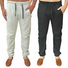 Mens Designer Duck & Cover Fleece Joggers Bottoms Pants Trouser Harem Charter