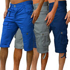 Mens Designer Eto Jeans Shorts Combats Chinos 3 New Stylish Holiday Cargo Pants