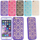 Soft TPU+Hard PC Light Back Pattern Phone Case Cover Skins For iPhone 6S/6S Plus