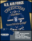 "T-shirts USAF 7.62 Design T194 USAF ""Worldwide Service"""