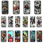 DC Marvel superhero comic book cover case for Apple iPhone - G5