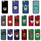 DC Marvel superhero comic Minimal cover case for Apple iPhone - G22