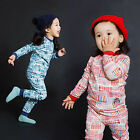 "Vaenait Baby Infant Toddler Kids Girls Boys Clothes Pajama Set ""Chrome"" 12M-7T"