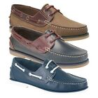 Dek Superb Quality Stylish Moccasin LEATHER Deck Boat Shoes Men's & Ladies Sizes