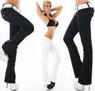 Sexy Women's New Bootcut Stretchy Jeans Trousers  Incl. Belt J 111
