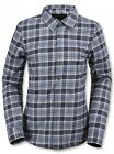 Volcom NOURISH Insulated FLANNEL GREY Plaid H0251607 AUTHENTIC Womens NEW 2016