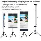 """Внешний вид -  Double-sided Tripod Banner Stand Height up to 71"""" for Pliable or Rigid Graphic"""