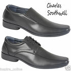 MENS SMART FAUX LEATHER SHOES FORMAL OFFICE CASUAL WEDDING PARTY SUIT DRESS SHOE