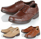 Comfort Xtra Mens Leather Comfort Office Formal Wedding Casual Party Shoes Size