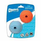 Chuckit Dog Durable Rubber Whistler Ball Fetch Whistling Toy